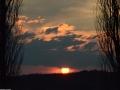 Zonsondergang in Grandhan