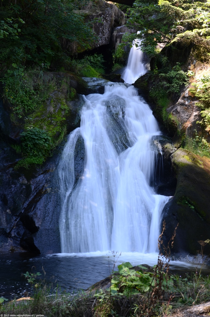 Vakantie 2015 - Zwarte Woud Duitsland (15) - Triberger Wasserfälle